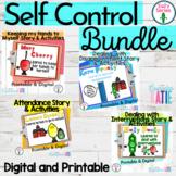 Self Control Bundle - Hands to myself story - Digital & Printable