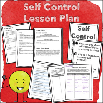 Self Control--Character Trait Lesson