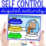 Self Control Digital Activity for Elementary School Counseling
