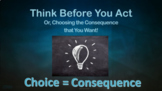 Impulse Self-Control Impulsive Choices No Prep SEL Lesn 3 Vid practice scenarios