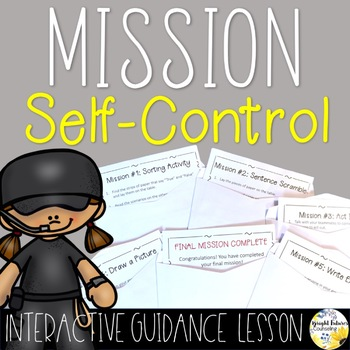 Self-Control - Interactive Guidance Lesson