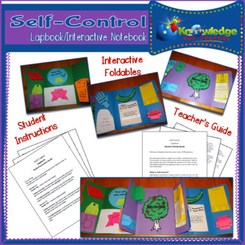 Self-Control Lapbook