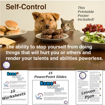 Self Control Lesson and PowerPoint