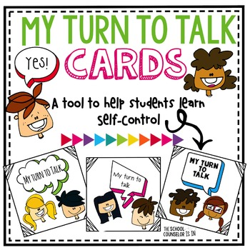 Self-Control-My Turn To Talk Cards