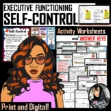 Self-Control Packet (Executive Functioning - 97 pages) PDF