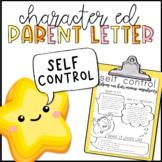 Self Control Parent Letter