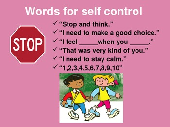 Self Control Powerpoint