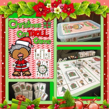 Self Control & Responsibility:  Christmas ConTROLL Game