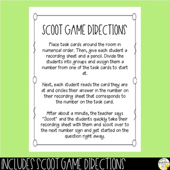 Self-Control Scoot Game