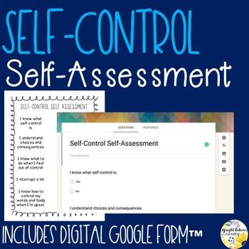 Self-Control Self-Assessment