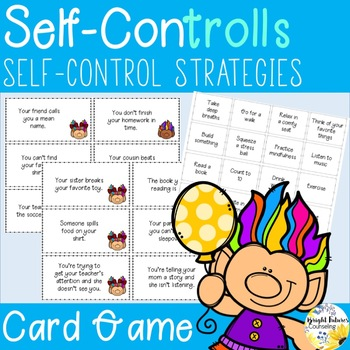 Self-Control - Social Skills Card Game - Self-ConTROLLS