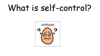 Self-Control Social Story