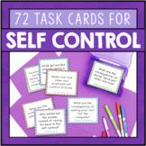 Self Control Task Cards