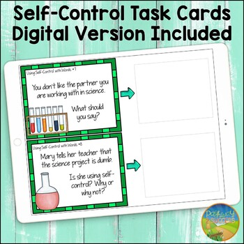 Self Control Task Cards