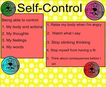Self-Control Whack-a-Mole SMARTboard Lesson