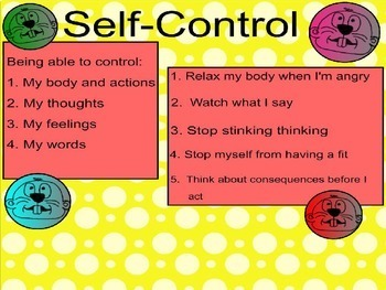 Self Control Whack-a-Mole PowerPoint Version