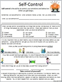Self-Control Worksheet