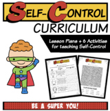 Self-Control Worksheets and Activities | Character Education