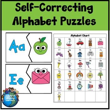 Self-Correcting Alphabet Puzzles