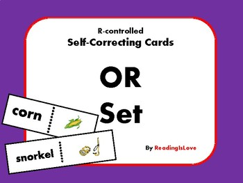Self-Correcting Cards - OR Set