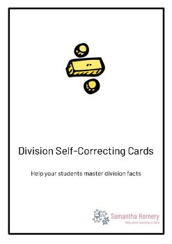 Self-Correcting Division Cards