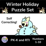 Self Correcting Holiday Counting Puzzles
