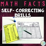 Self-Correcting Math Fact Drills with Subtraction and Addition Facts to 20 & 24