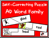 Self Correcting Puzzle - AD Word Family Words