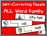 Self Correcting Puzzle - ALL Word Family Words
