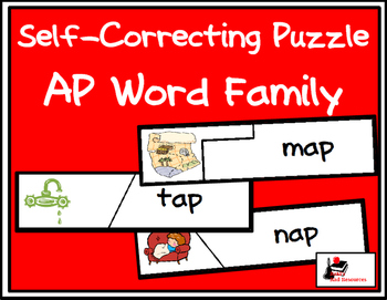Self Correcting Puzzle - AP Word Family Words