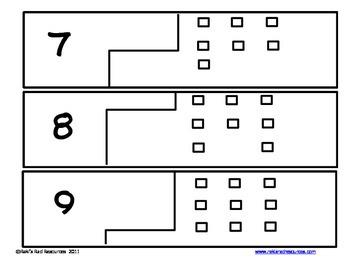 Self Correcting Puzzle - Base 10 Blocks 1-20