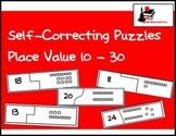 Self Correcting Puzzle - Base 10 Blocks 10-30