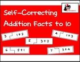 Self Correcting Puzzle - Basic Addition 1-10