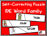 Self Correcting Puzzle - IDE Word Family Words