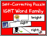 Self Correcting Puzzle - IGHT Word Family Words