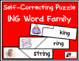 Self Correcting Puzzle - ING Word Family Words