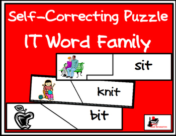 Self Correcting Puzzle - IT Word Family Words