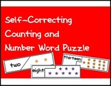 Self Correcting Puzzle - Number Words and Pictures