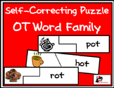 Self Correcting Puzzle - OT Word Family Words