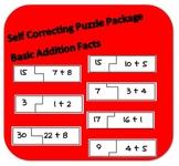 Self Correcting Puzzle Bundle - Basic Addition