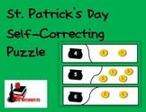 Self Correcting Puzzle - St. Patrick's Day Leprechaun Money