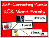 Self Correcting Puzzle - UCK Word Family Words
