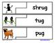 Self Correcting Puzzle - UG Word Family Words