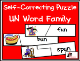 Self Correcting Puzzle - UN Word Family Words