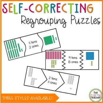 Self-Correcting Regrouping Puzzles