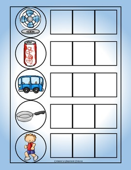 Self-Correcting Word Building File Folders (Growing Bundle)