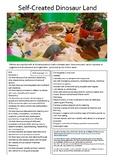 Self Created Dinosaur Land NQS, EYLF & Kindergarten Curriculum