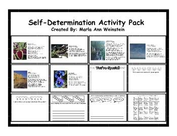 Self-Determination Activity Pack