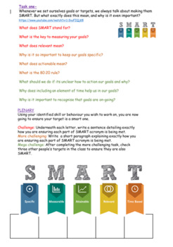 Self Development: Goal Setting and SMART Targets