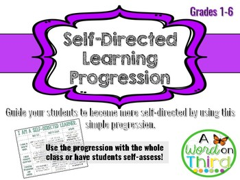 Download This Free Learning Progression Before You Forget!   A Word On Third